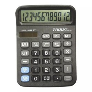 Calculadora Truly 12 Digitos 836B-12