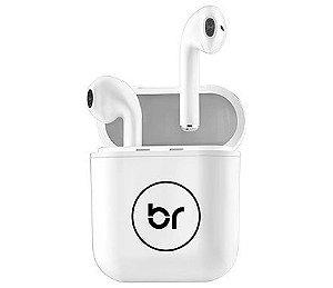 Fone de Ouvido Bright Bluetooth 5.0 Branco