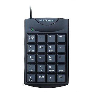 Teclado Numerico Multilaser TC229
