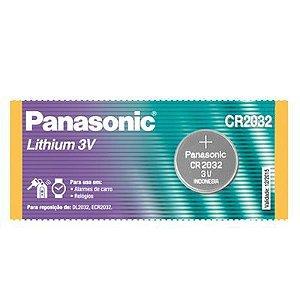 Pilha Botão Panasonic CR2032 3V (un)