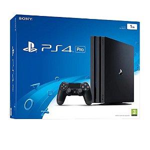 Console Playstation 4 Pro 4K CUH-7215B 1tb sem Jogo