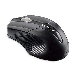 Mouse Multilaser MO264 sem Fio Preto
