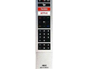 Controle Remoto para TV AOC SKY-9061