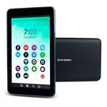 "Tablet Everex M738Q 7"" 1gb Ram 8GB Preto"