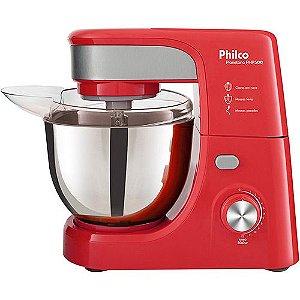 Batedeira Planetária Philco PHP500 Vermelha/Inox 127V 500W