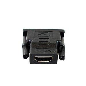 Adaptador HDMI Fêmea x DVI Macho Evus C-097