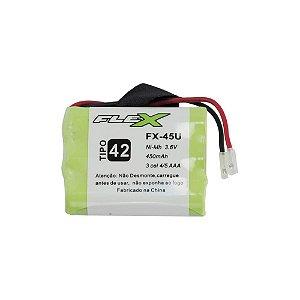 Bateria para Telefone sem fio Flex FX-45U 450mah