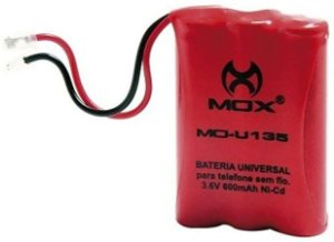 Bateria para Telefone sem fio Mox MO-U135