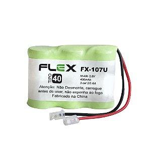 Bateria para Telefone sem fio Flex FX-107U