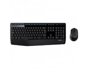 Teclado + Mouse Logitech MK345 sem Fio Preto