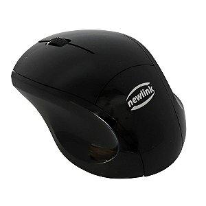 Mouse Newlink MO225 Pocket Preto sem Fio