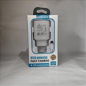 Carregador Lehmox LE-139 Micro USB