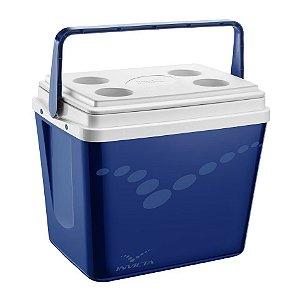 Caixa Térmica Invicta Pop 34 Litros Azul
