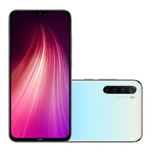 Smartphone Xiaomi Redmi Note 8 M1908C3JH 64gb Moonlight White (Branco Luar)