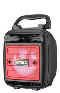 Caixa de Som Kimiso KMS-1181 Vermelha 5W