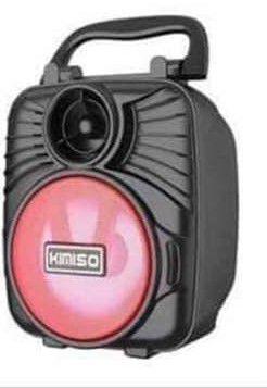 Caixa de Som Kimiso KMS-1183 Vermelha 5W