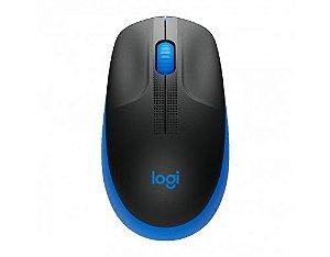 Mouse Logitech M190 RC sem Fio Azul