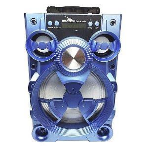 Caixa de Som Grasep D-BH2024 Azul