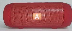 Caixa de Som AL-006 Vermelha