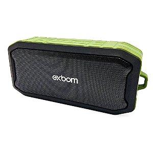 Caixa de Som Exbom CS-M86BT Verde 5W