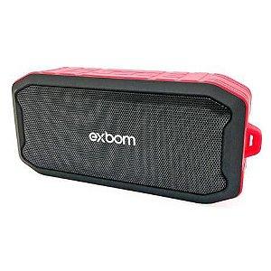 Caixa de Som Exbom CS-M86BT Vermelha 5W