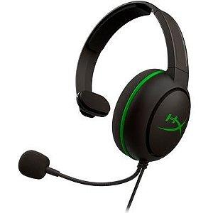 Fone de Ouvido Gamer Hyperx Cloudx Chat para Xbox Preto/Verde