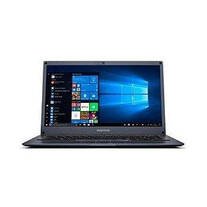 """Notebook Positivo Q464B Dual Core 14"""" 64gb 4gb Preto"""