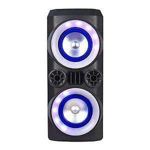 Caixa de Som Multilaser SP379 Mini Torre Neon X 300W