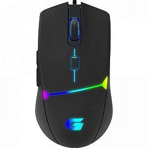 Mouse Gamer Fortrek Crusader com Fio Preto 7200dpi