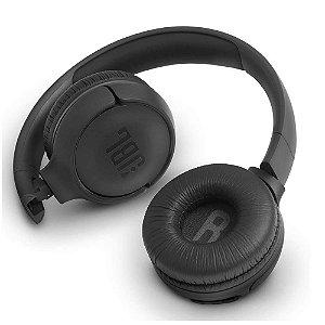 Fone  Headset Bluetooth Tune 500BTBLK JBL Preto