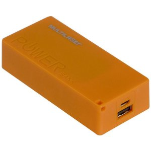POWER BANK CB097 MULTILASER LARANJA