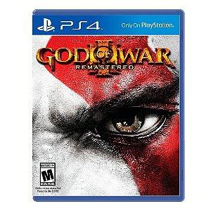 JOGO PS4 GOD OF WAR 3 REMASTERIZADO