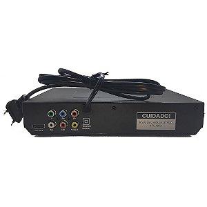 Dvd Player Multilaser SP394 Com HDMI e USB Preto