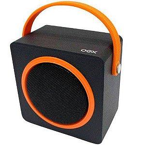 CAIXA DE SOM SK404 OEX MUSIC BOX LARANJA