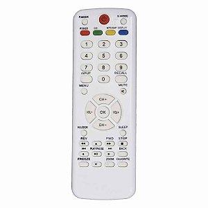 Controle Remoto para Tv  H-Buster LE-7818 Lelong