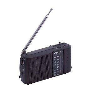 Rádio Portátil ICF-8 GPX GI-EH 2 Faixas AM/FM 2W