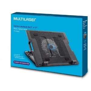 Suporte Para Notebook Multilaser Ac166 com Cooler