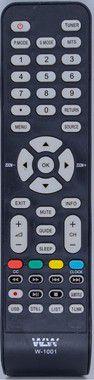 CONTROLE W-1001 WLW P/ TV PHILCO