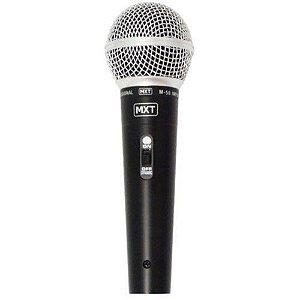 Microfone M-58 MXT Com Cabo Preto 54.1.113