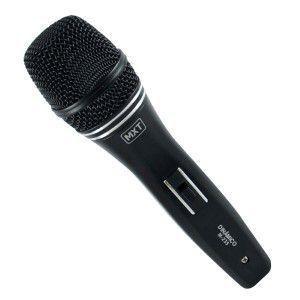 Microfone Dinâmico Mxt  M-235 c/ Cabo 3mt