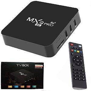 Tv Box MXQ Pro 4K Android 10.1 4GB/64GB