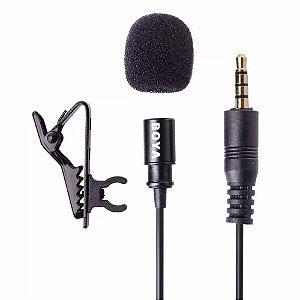 Microfone de Lapela Boya BY-M1 Preto
