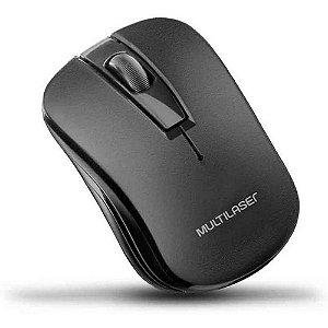 Teclado + Mouse sem Fio Multilaser TC212 Preto