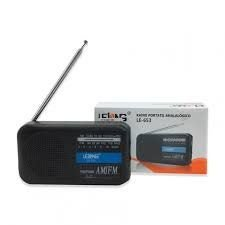 RADIO LE-653 LELONG 2 FAIXAS AM/FM 2W