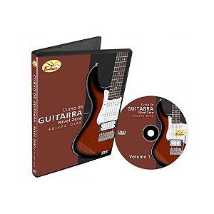 Dvd Vídeo Aula Curso de Guitarra Nível Zero Vol.1