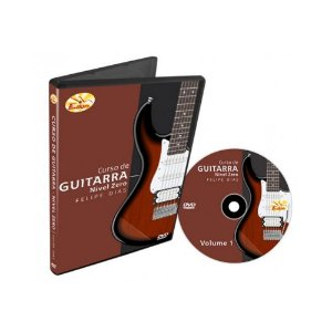 Dvd Vídeo Aula Curso de Guitarra Nível Zero Vol.1
