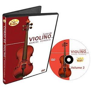 Dvd Vídeo Aula Curso de Violino Vol.2