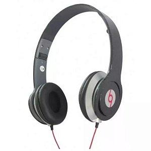Fone Ouvido Headset Com Fio P2 Knup Kp-313 Preto