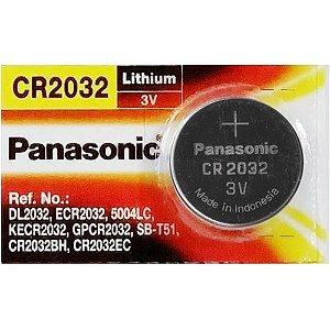 PILHA BOTAO CR2032 3V PANASONIC (CADA)