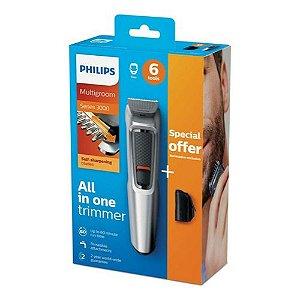 Aparador de Barba Philips MG3713/15 20W Bivolt